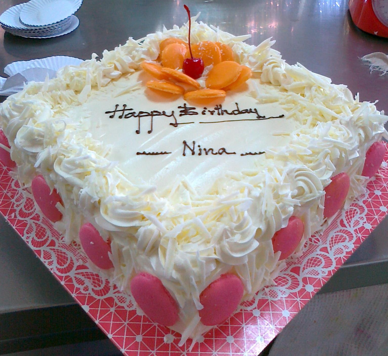 Mai Bakery รับทำ cake วันเกิด
