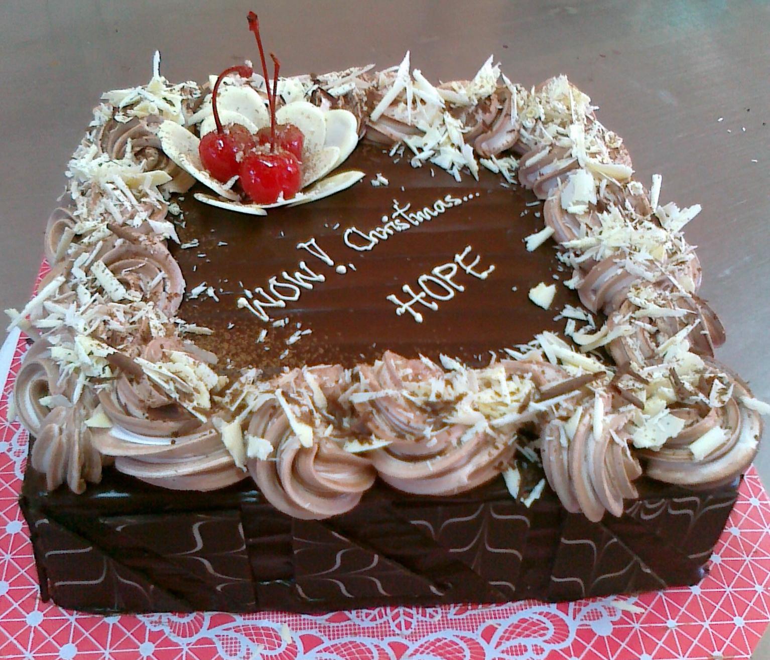 Mai Bakery รับทำ cake วันคริสมาส